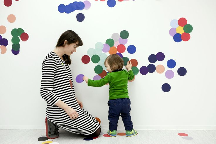 ILME WORKSHOP SPACE:  In the ILME workshop space one can get to know the themes of the current exhibition in a delightful way.   During the Rudolf Steiner - Designer of the Everyday exhibition ILME is an energisizing colour space, enjoy!