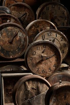 """""""I have banned all ticking timepieces from the Rouge. The eternity I spend here is no fortune to be measured."""""""