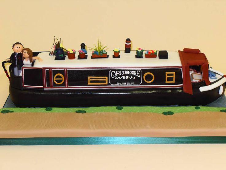 #boating #cake #barge