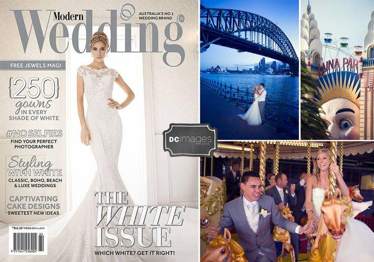 Real wedding of Daniel & Elise showcased in #modernwedding magazine