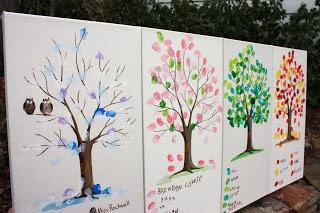 alton boys: Thumbs Up!  fingerprint art for our kindergarten class auction project