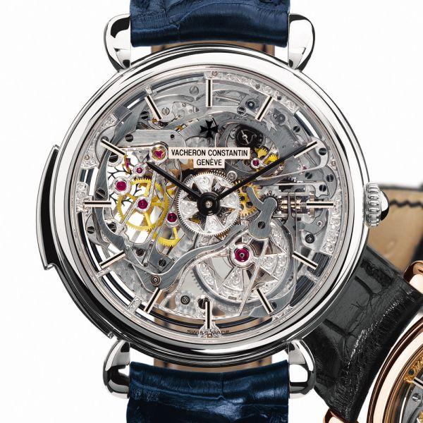 Vacheron Constantin  세계에서 가장 오래된 시계 회사중의 하나로, 시계내부가 보이는 디자인이 특징인 회사이다.