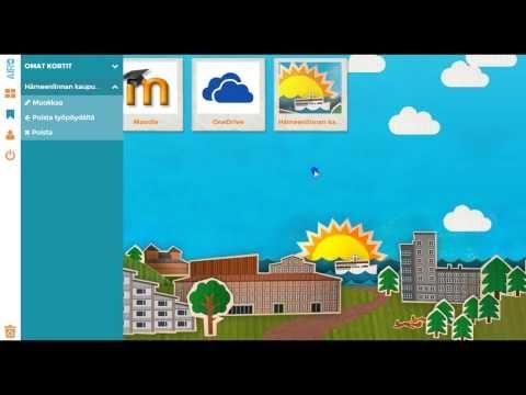Hämeenlinnalle rakennettiin opetuksen pilvityöpöytä. Tässä asiakkaamme toteuttama esittelyvideo!