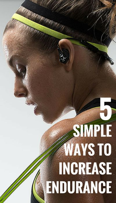 5 Simple Ways to Increase your Stamina