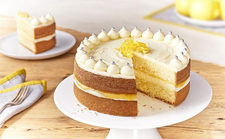 Lemon Cake Recipes On Pinterest: Zesty Lemon Celebration Cake