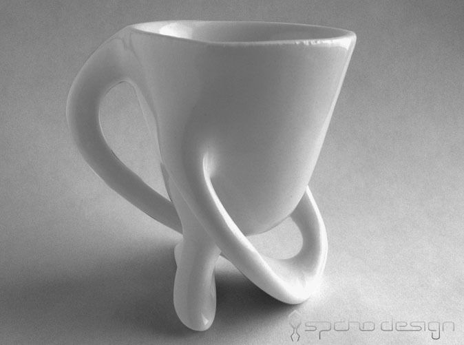 #johanlouwers #3D model for #3D printing of a (cu) Espresso Cup by kspaho