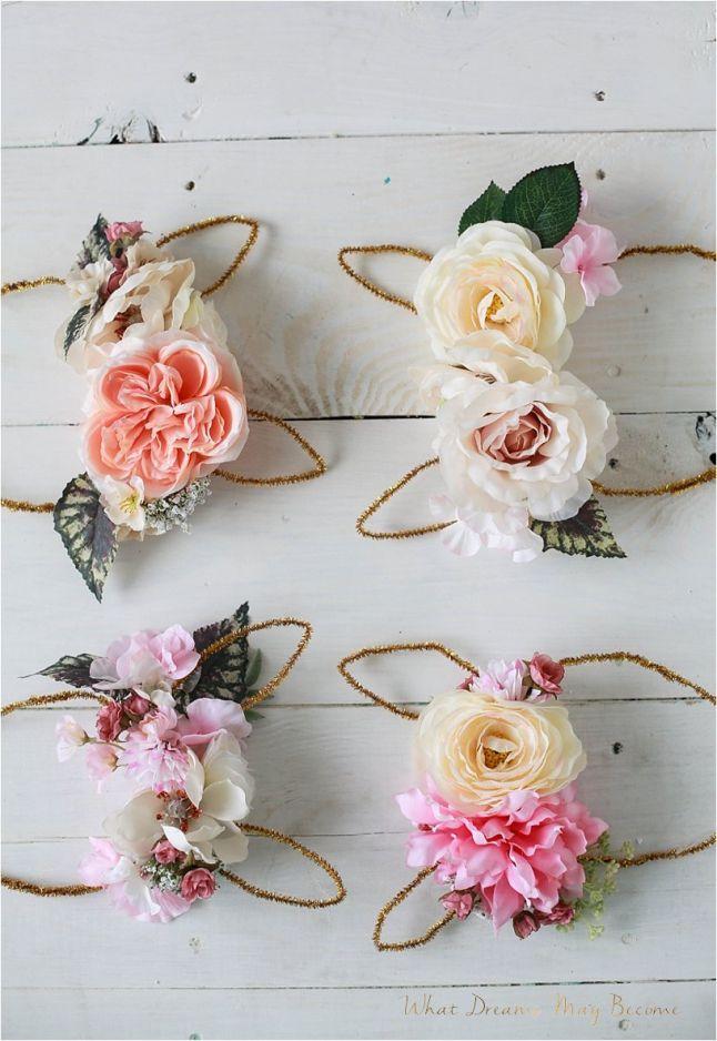 Bunny floral crowns #DIY                                                       …
