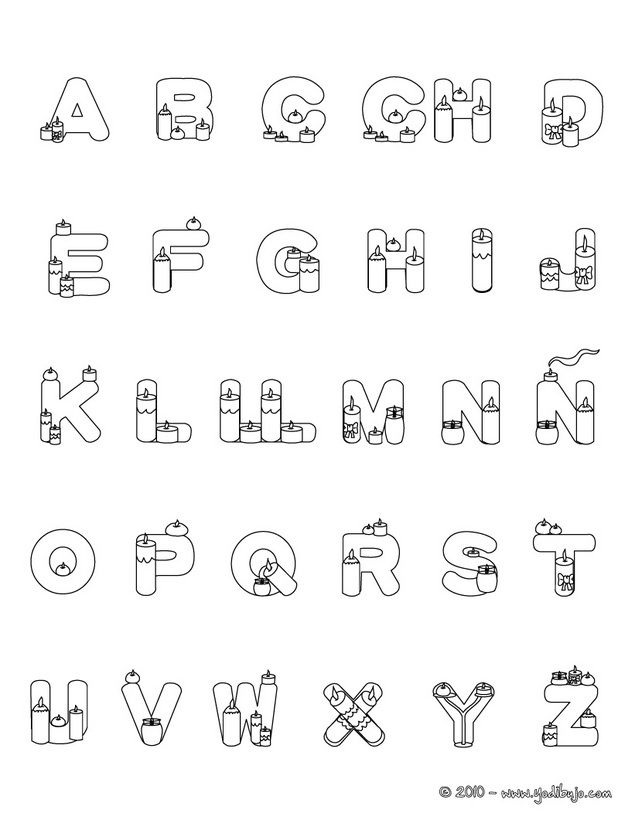 Coloring Pages Spanish Alphabet : Best letras images on pinterest creative crafts