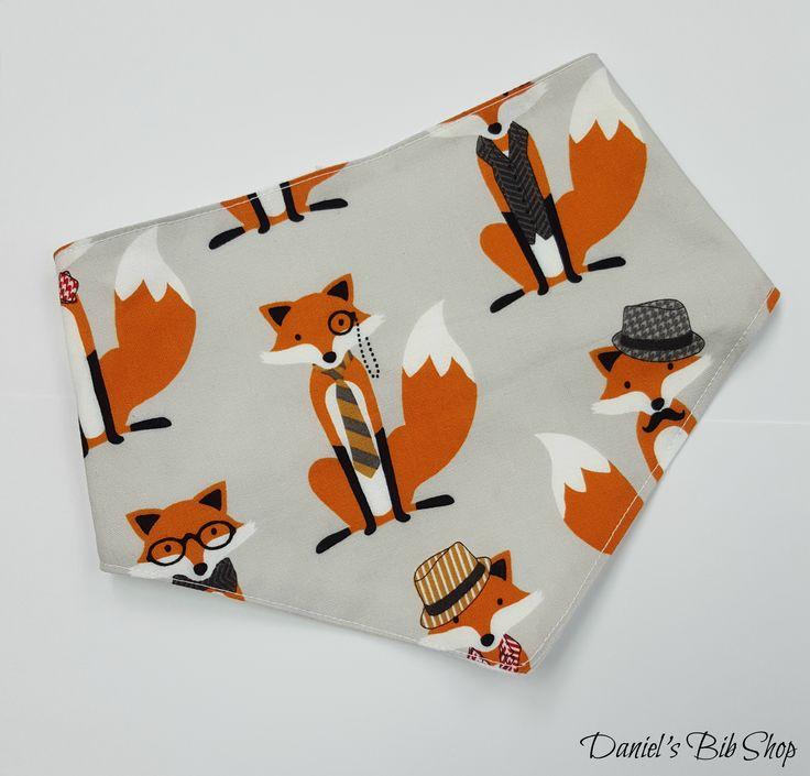Handmade Gentleman's Fox Bibdana