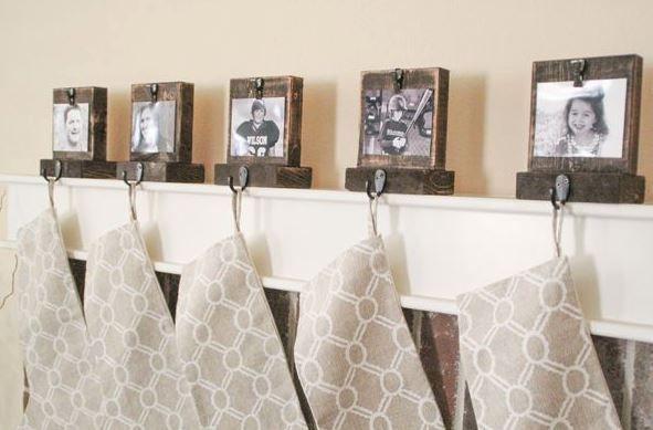 14 Creative Ideas For DIY Christmas Stocking Hangers