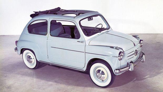 Fiat 600, 1955