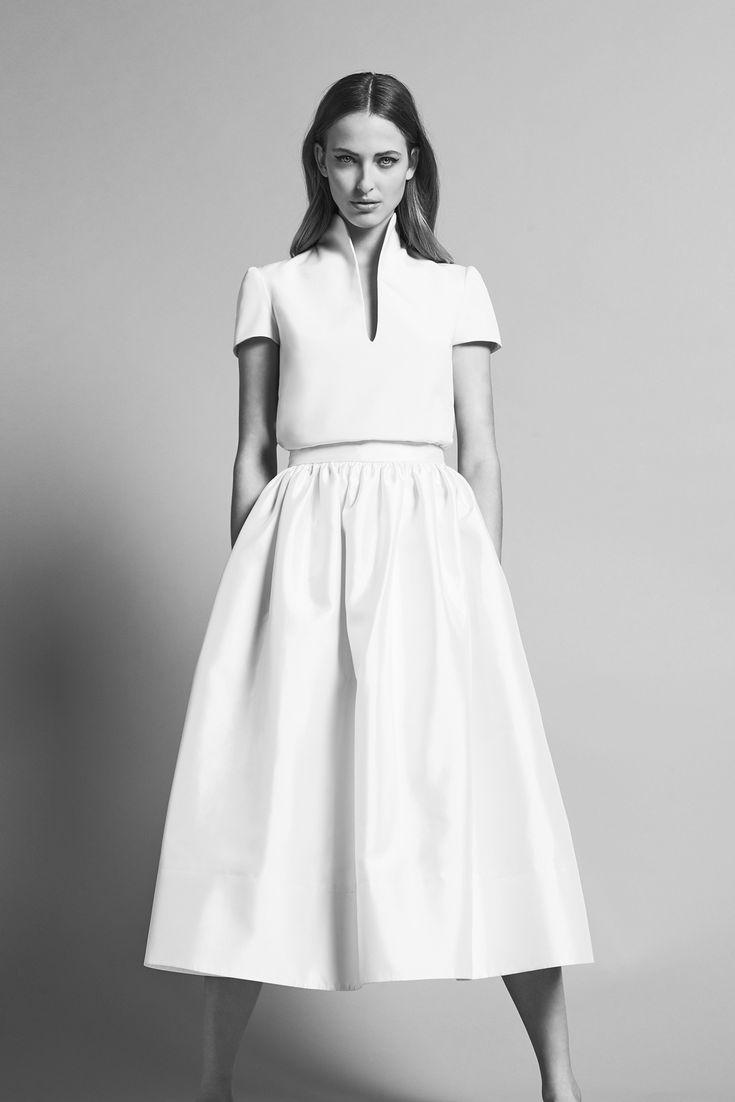 Delphine Manivet : Jordan top & Yves skirt - Prefall Collection 2016 - Delphine Manivet