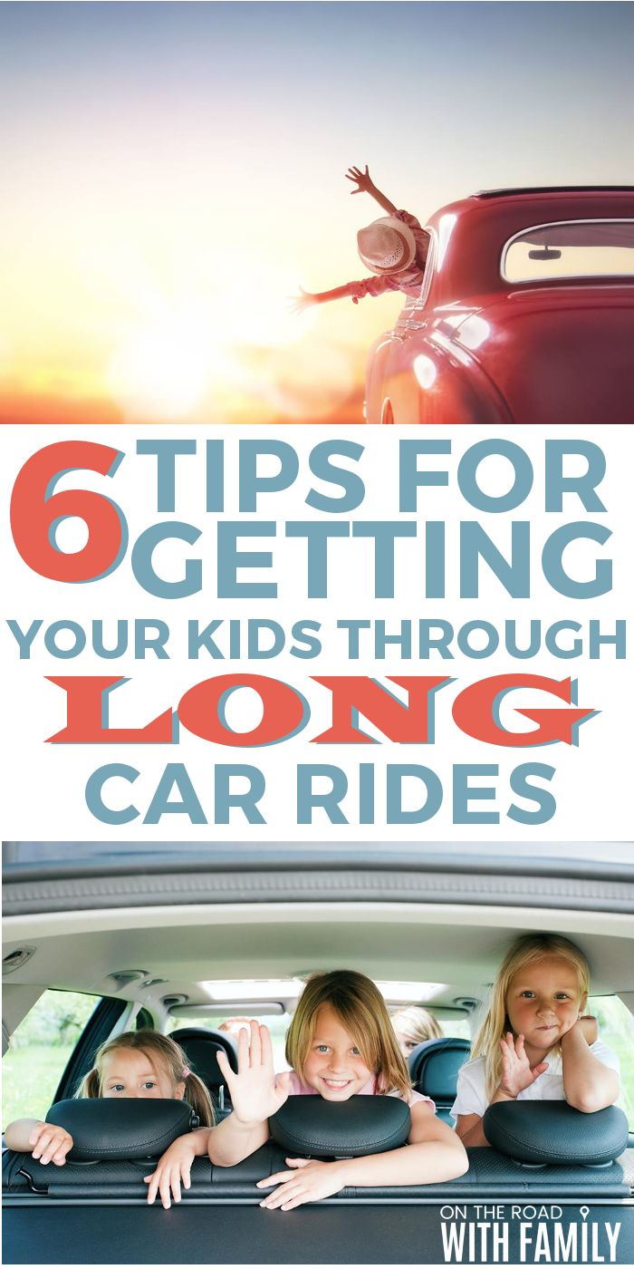 6 tips for getting your kids through long car rides