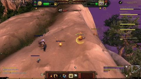 Dragonball Z Level Wild Pet Attack #worldofwarcraft #blizzard #Hearthstone #wow #Warcraft #BlizzardCS #gaming