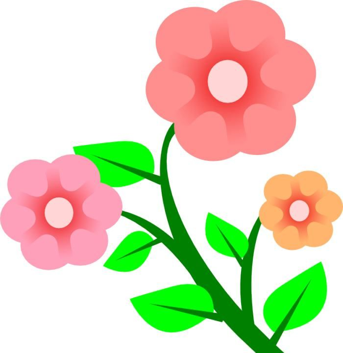 Clip art flowers images | Free Reference Images