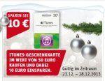 [Rewe] 50 Euro iTunes Karte für 40 Euro - Deals » myDealZ.de
