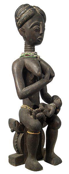 Fante Maternity Figure 9, Ghana