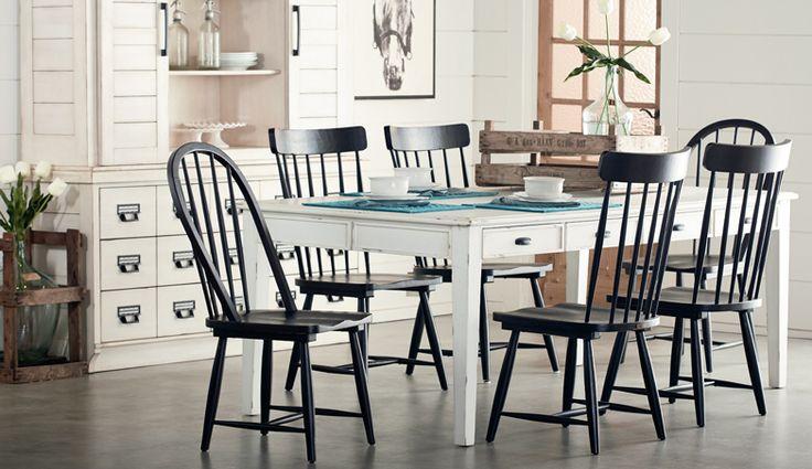 magnolia home dining furniture pinterest magnolia homes magnolias and home. Black Bedroom Furniture Sets. Home Design Ideas