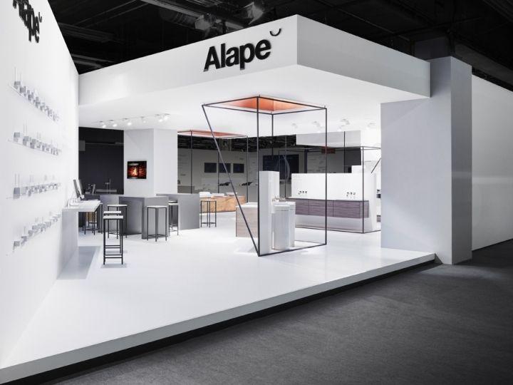 Heine/Lenz/Zizka Projekte presents glazed steel basins as monumental structures in a serene setting