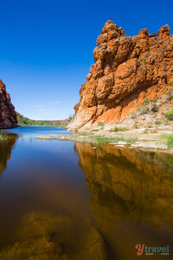 Glen Helen Gorge - West MacDonnel Ranges, Northern Territory, Australia