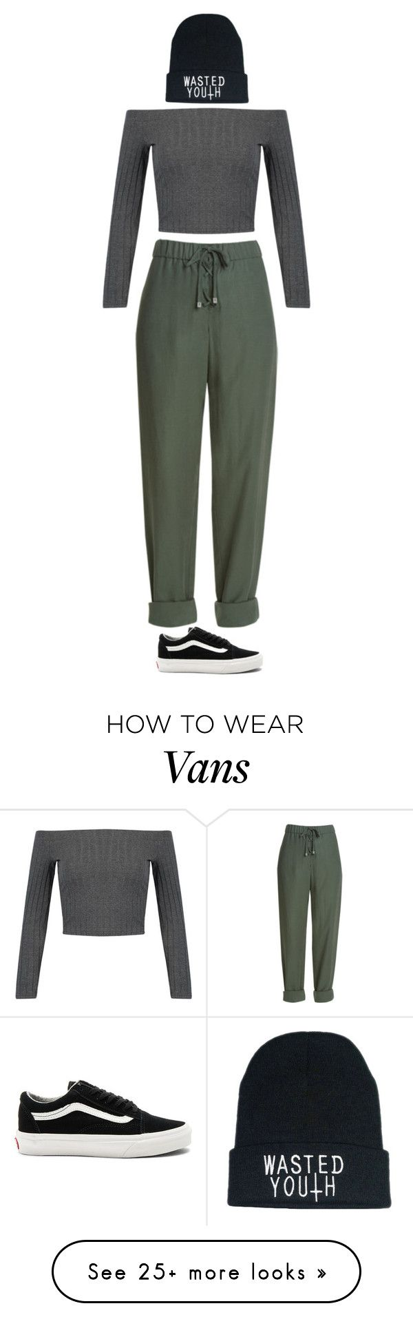 """Street Style"" by mayalexia on Polyvore featuring WithChic and Vans"