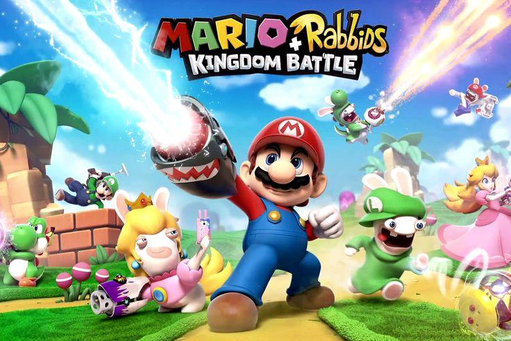 La conférence d'Ubisoft vient tout juste de commencer et Yves Guillemot à accueilli Shigeru Miyamoto afin d'annoncer le développement de Mario + Rabbids Kingdom Battle en exclusivité sur Nintendo Switch. Il s'agit d'un tactical RPG qui mélange les univers des deux licences avec l'humour des Lapins Crétins en prime. Chacun des huit personnage disposera d'une arme afin de sa battre contre des ennemis dans des zones de combat qui se situent dans le Royaume Champignon. Mario + Rabbids Kingdom…