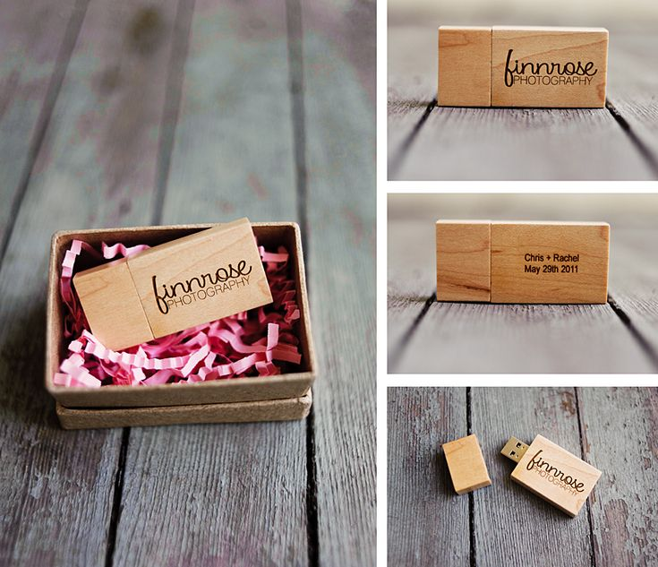 I love this flash drive packaging idea!