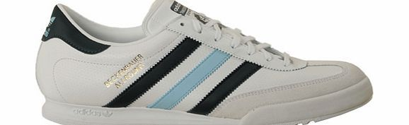 Adidas Beckenbauer White/Navy/Sky Leather Trainers Adidas Beckenbauer White/Navy/Sky Leather Trainer Colourway