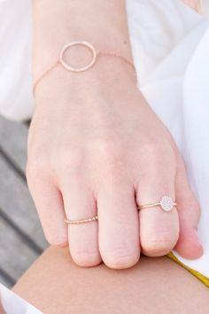 armband diamanten ring charm