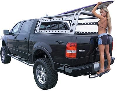 Truck Pipe Rack >> Truck Ladder Racks By Go Rhino Vehicle Things Truck Accessories