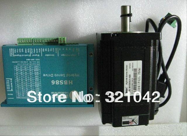Новый Leadshine Гибридный Сервоприводы Hbs86 + 86HBM80-01-1000 8N. m