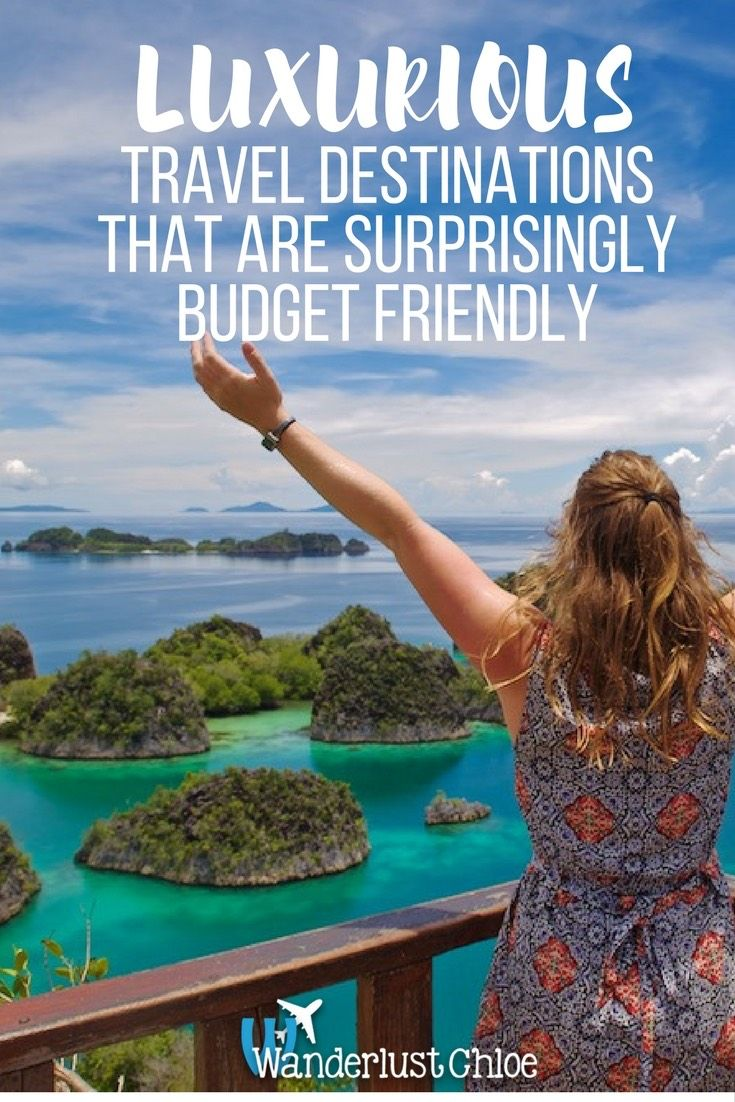 Luxurious Travel Destinations That Are Surprisingly Budget Friendly. A reflection on luxury travel and why it's not all about champagne and infinity pools! https://www.wanderlustchloe.com/luxury-travel-destinations-budget-friendly/