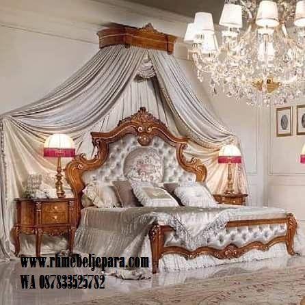 set tempat tidur mewah - roy mebel