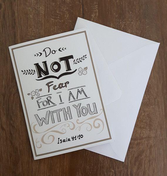 Vintage Grußkarten - Motivations- u. Trost-Klappkarte mit Briefumschlag - ein…