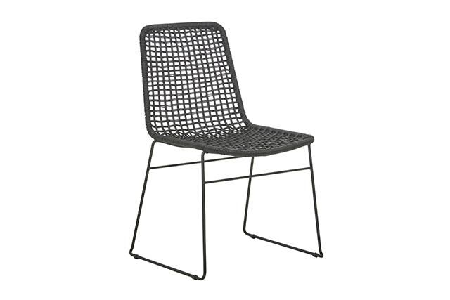 GlobeWest - Olivia Open Weave Dining Chair