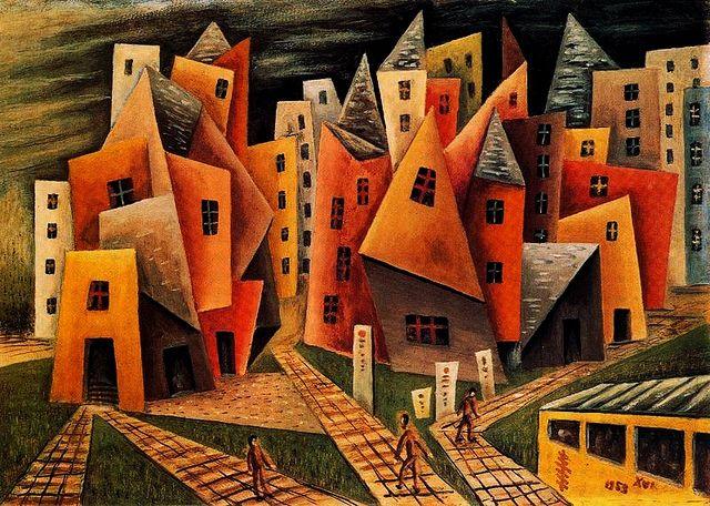 Solar, Xul (1887-1963) - 1953 Barrio (Museo Xul Solar, Buenos Aires, Argentina) by RasMarley, via Flickr