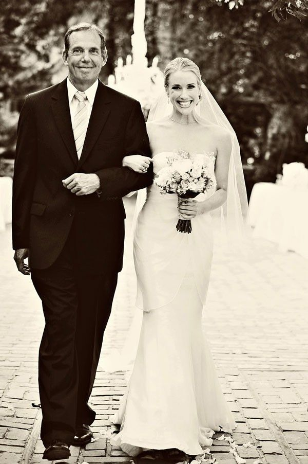 The Bride And Father Walk Down Aisle See More Of This Divine Event Here