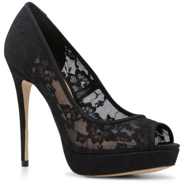 Aldo Velalla Lace Peep Toe Platform ($98) ❤ liked on Polyvore featuring shoes, pumps, peep toe, peep-toe, aldo pumps, sexy high heel pumps, peep-toe pumps, sexy pumps and vintage platform shoes