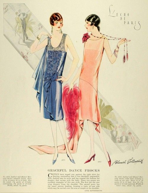1920's Fashion: Patterns Jewelry, 1920S Fashion, Mccall Patterns, 1920S Vintage, Vogue Patterns, Colors Prints, Vintage Vogue, Fashion Illustrations, Fashion Sketch
