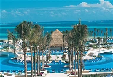 Moon Palace Resort in Cancun, Mexico. My sister got married there in 2005. Best family vacation ever!