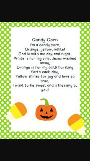 Faithful candycorn