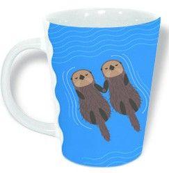 Seattle Aquarium | Drifting Otters Mug Online Store