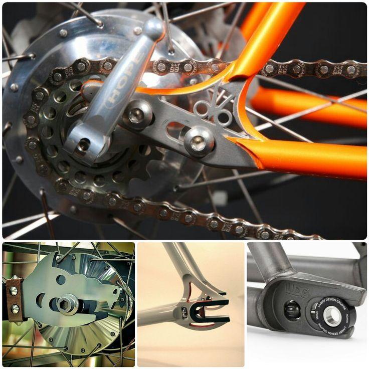 25 best Bicycle dropouts custom bike images on Pinterest | Fahrrad ...