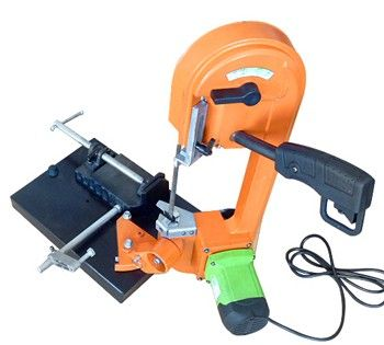 China fabricación de alta calidad portable mini sierra de cinta de corte de metal