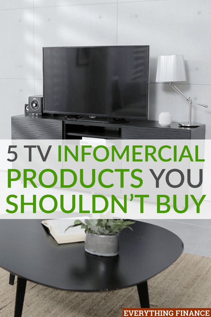 TV infomercial products are expensive. The return process is a hassle. And there is no such thing as a 100% guarantee or risk-free trial.