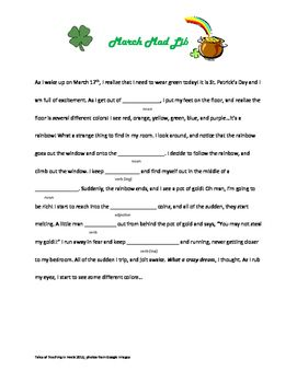A Mad Libs College Essay