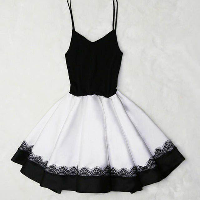 pretty b&w dress
