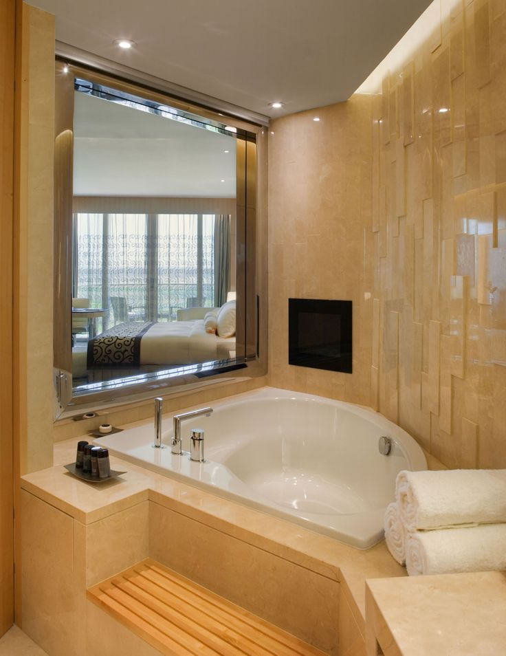 The Meydan Hotel - all rooms have state-of-the-art technology bathrooms