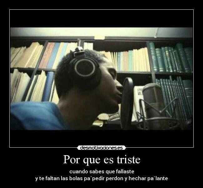 Y te faltan las bolas pa' pedir perdón♪#can #canvive #canserbero #rap #raplatino