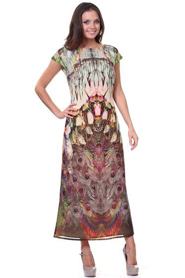 Платье OLIVEGREY PL-0001(LOTE) КОРИЧНЕВЫЙ 2013